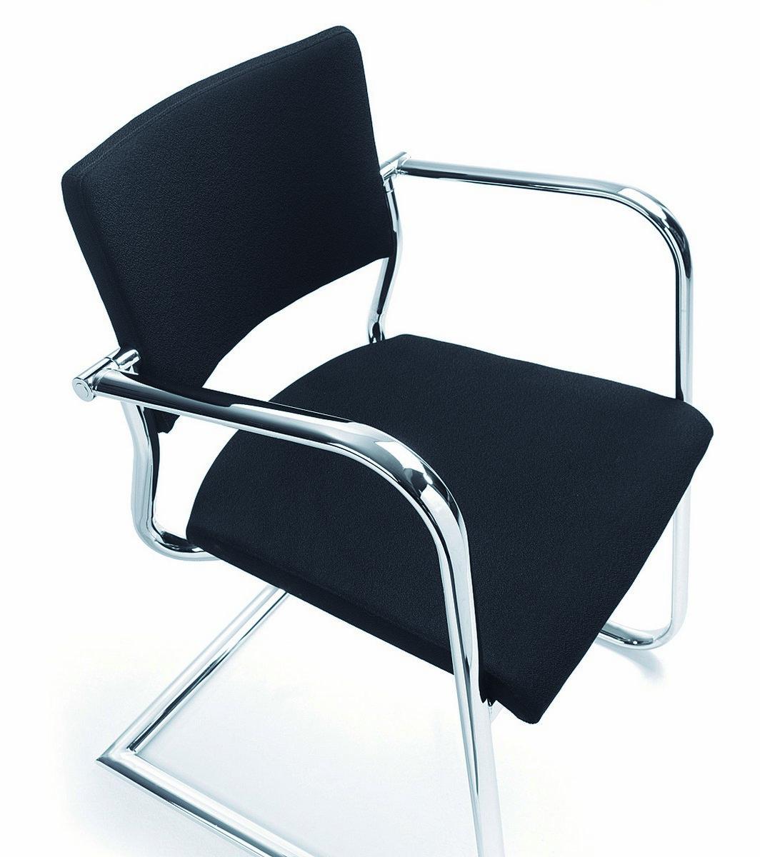 Czarne krzesła konferencyjne KALA, czarne fotele konferencyjne KALA
