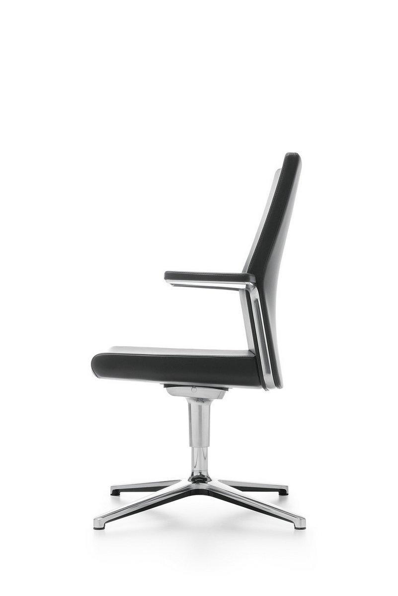 Czarny fotel konferencyjny myTURN