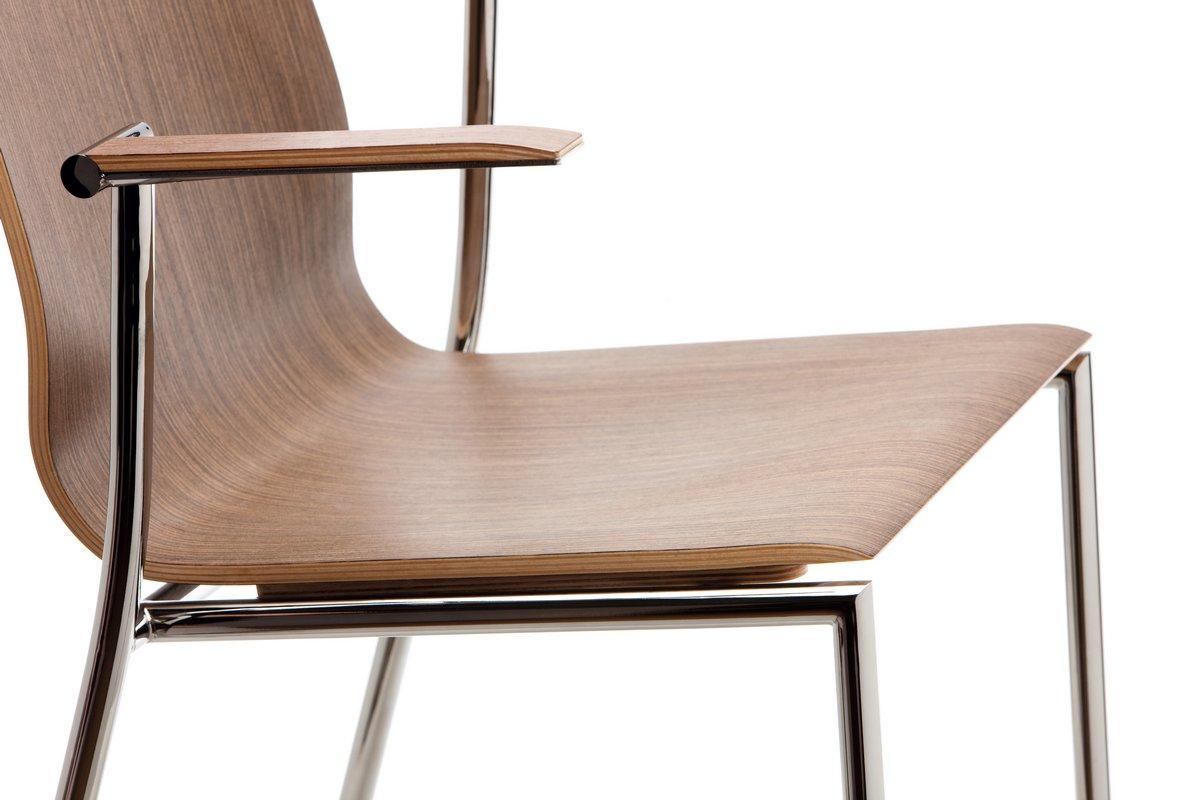 Krzesła konferencyjne SENSI, drewniane krzesła do sali konferencyjnej SENSI