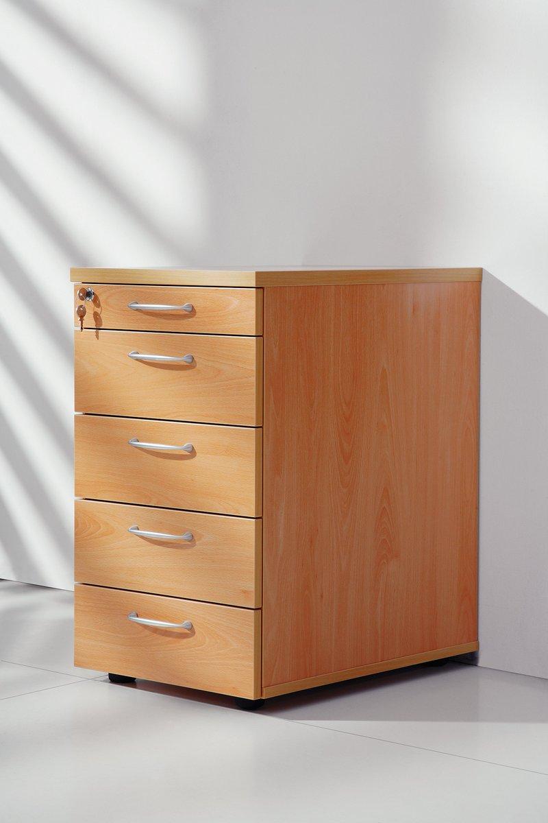 Regał biurowy z szufladami na dokumenty Furniko