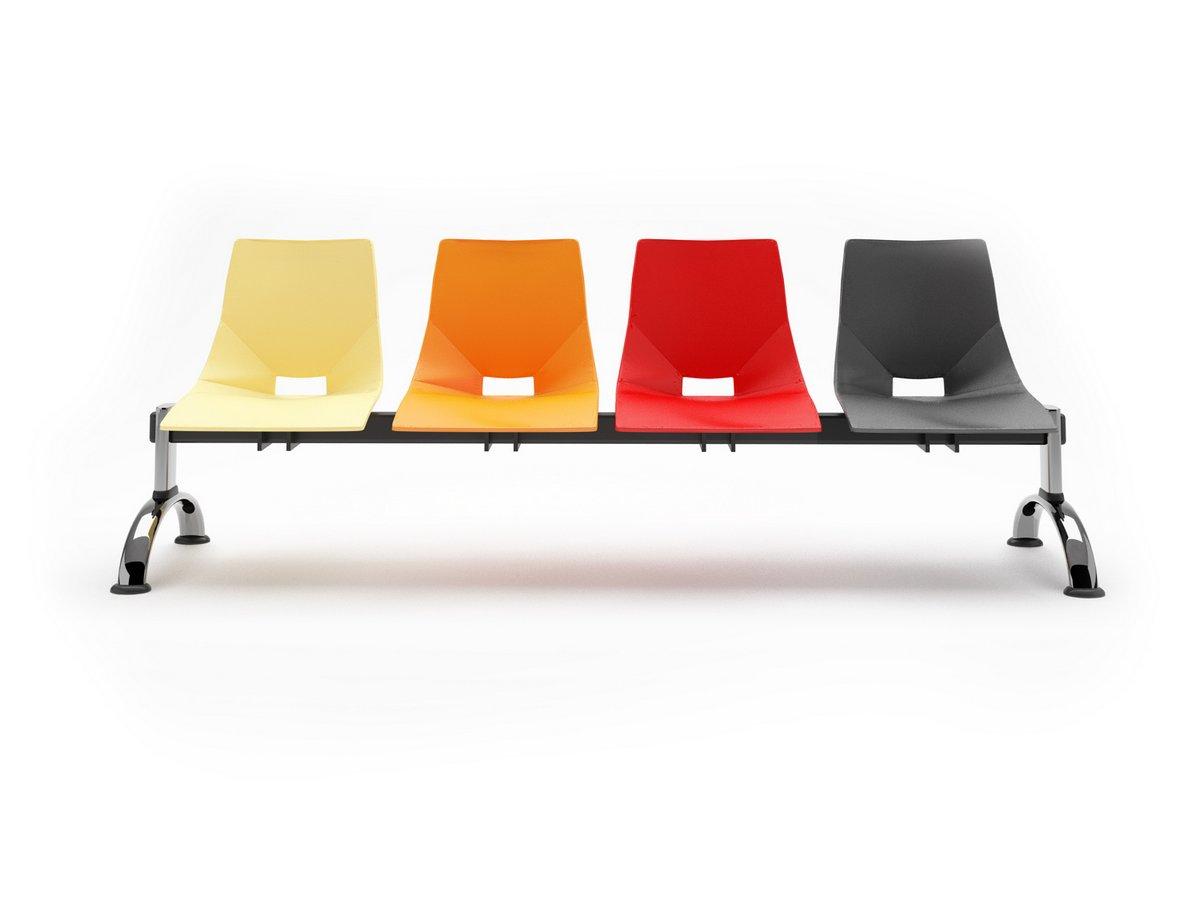 Krzesła konferencyjne SHELL, plastikowe oryginalne krzesła konferencyjne Shell