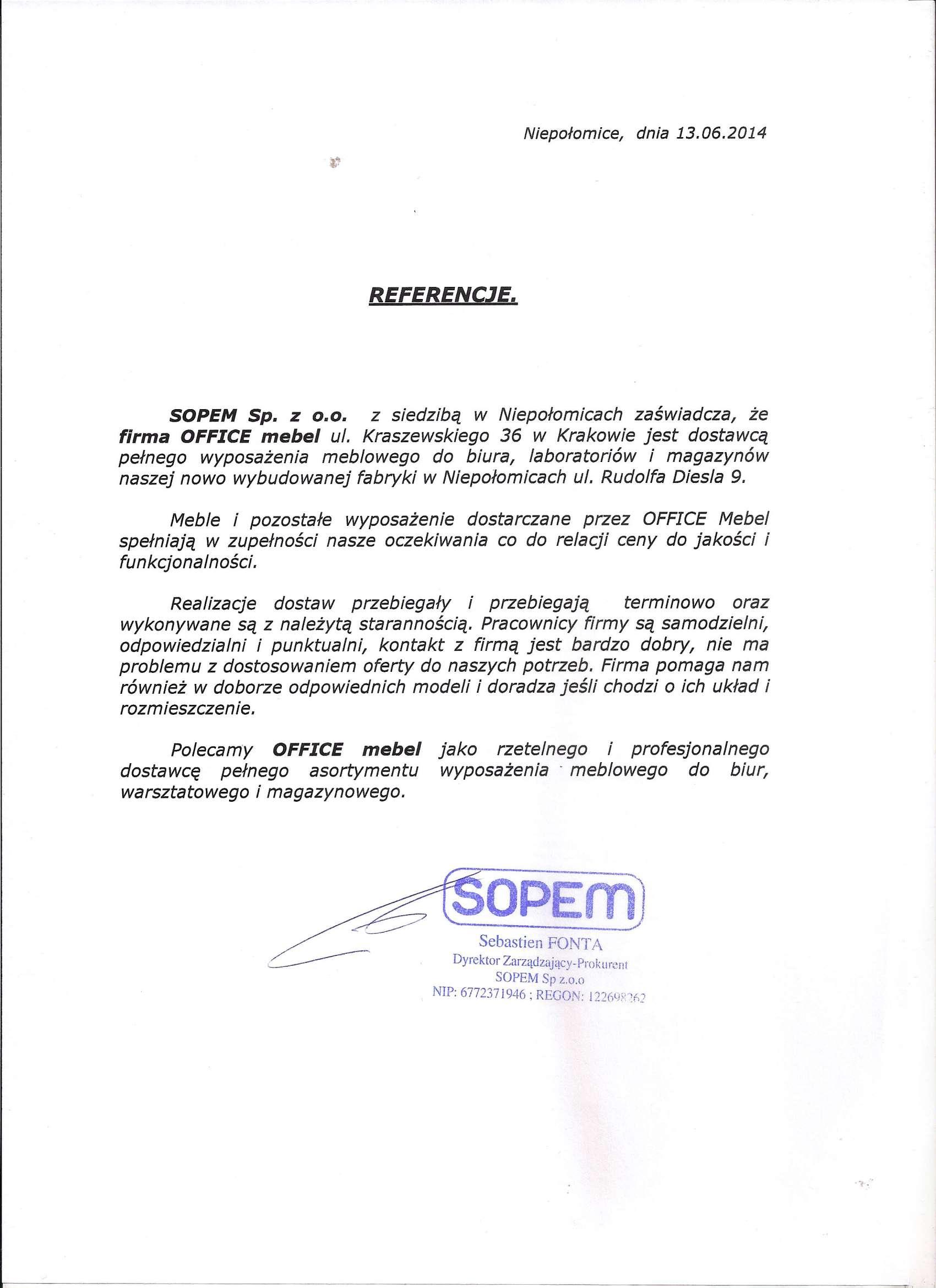 13 - SOPEM