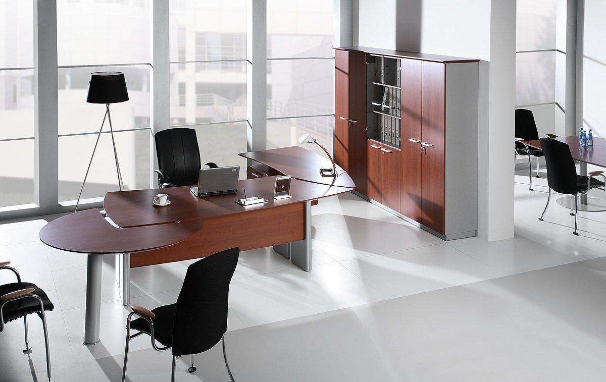Nowoczesny zestaw mebli gabinetowych Carisma do gabinetu, biura