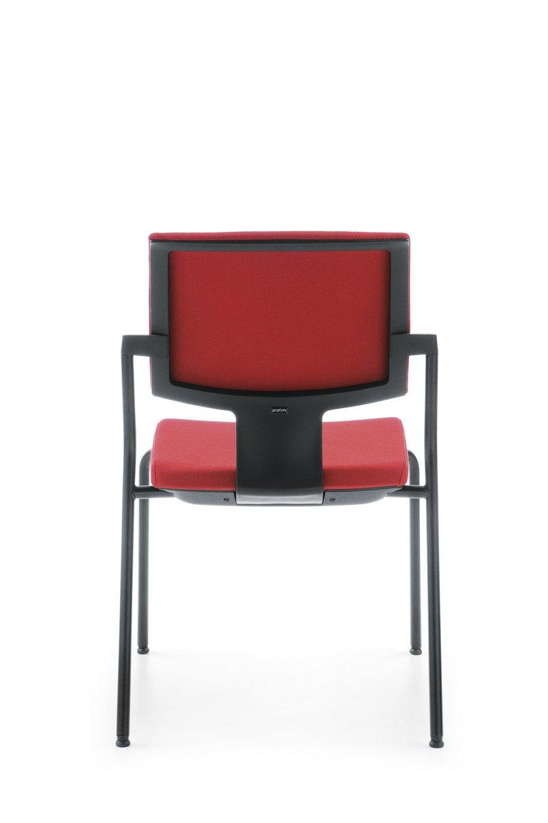 Krzesło konferencyjne Xenon, czerwone krzesło konferencyjne Xenon