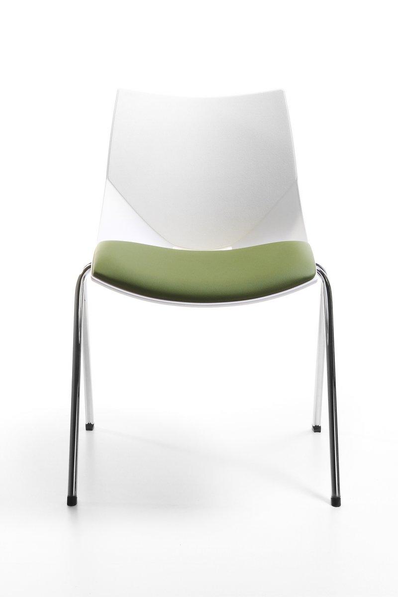 Krzesło konferencyjne SHELL, plastikowe oryginalne krzesło konferencyjne Shell