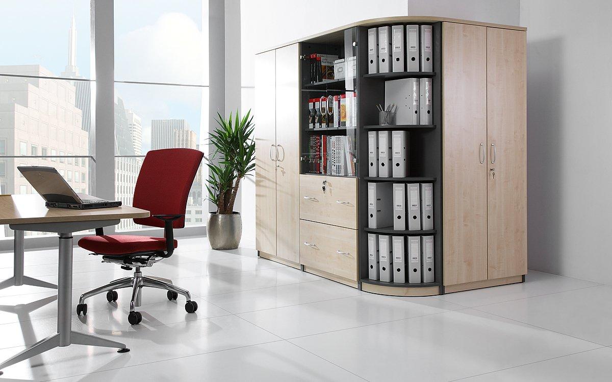 Regały biurowe otwarte i szafy ubraniowe z drzwiami przesuwnymi z drzwiami uchylnymi, przesuwnymi i żaluzjowymi Furniko