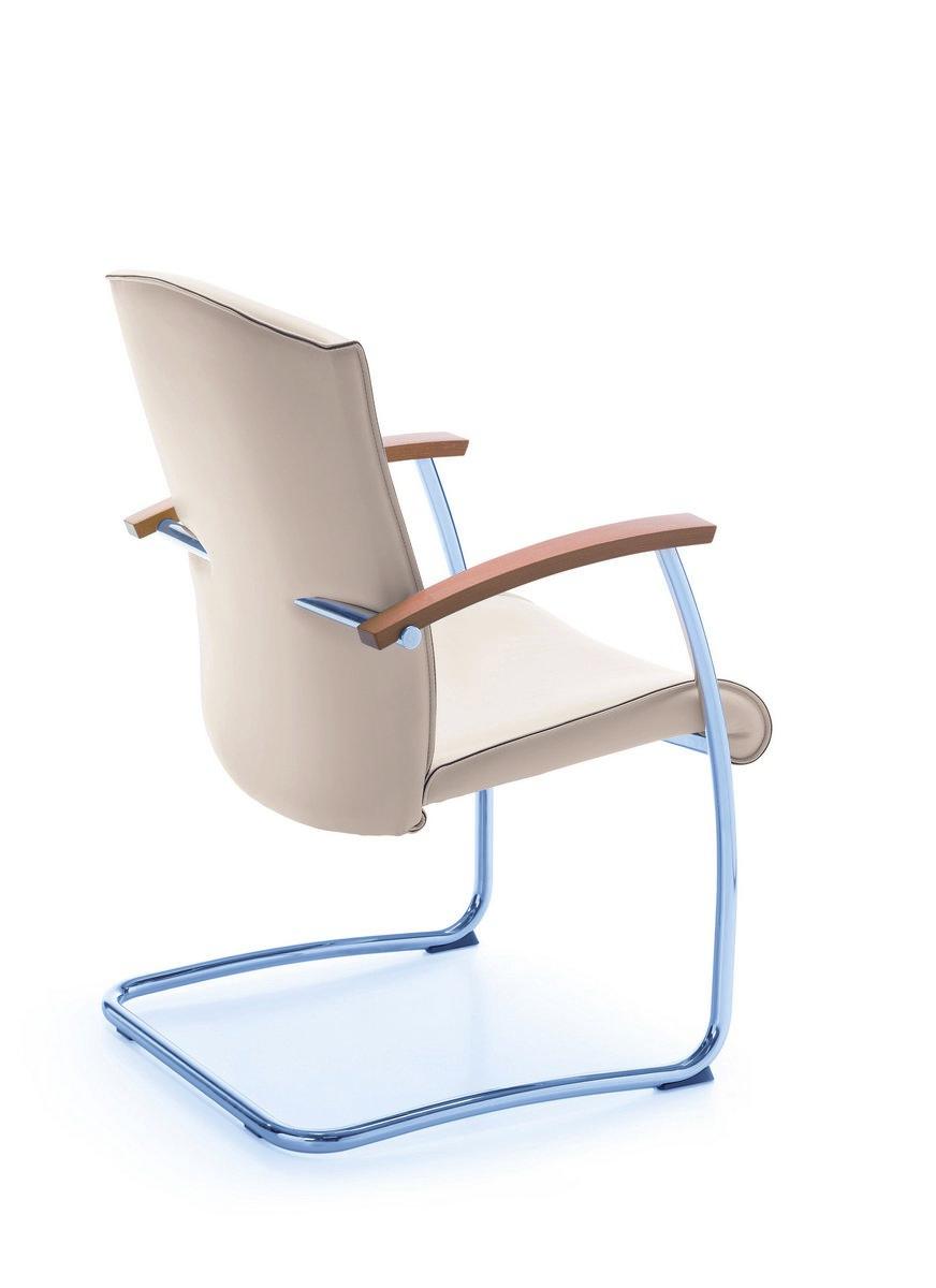 Beżowe rzesło konferencyjne NIKO, beżowe fotele konferencyjne NIKO