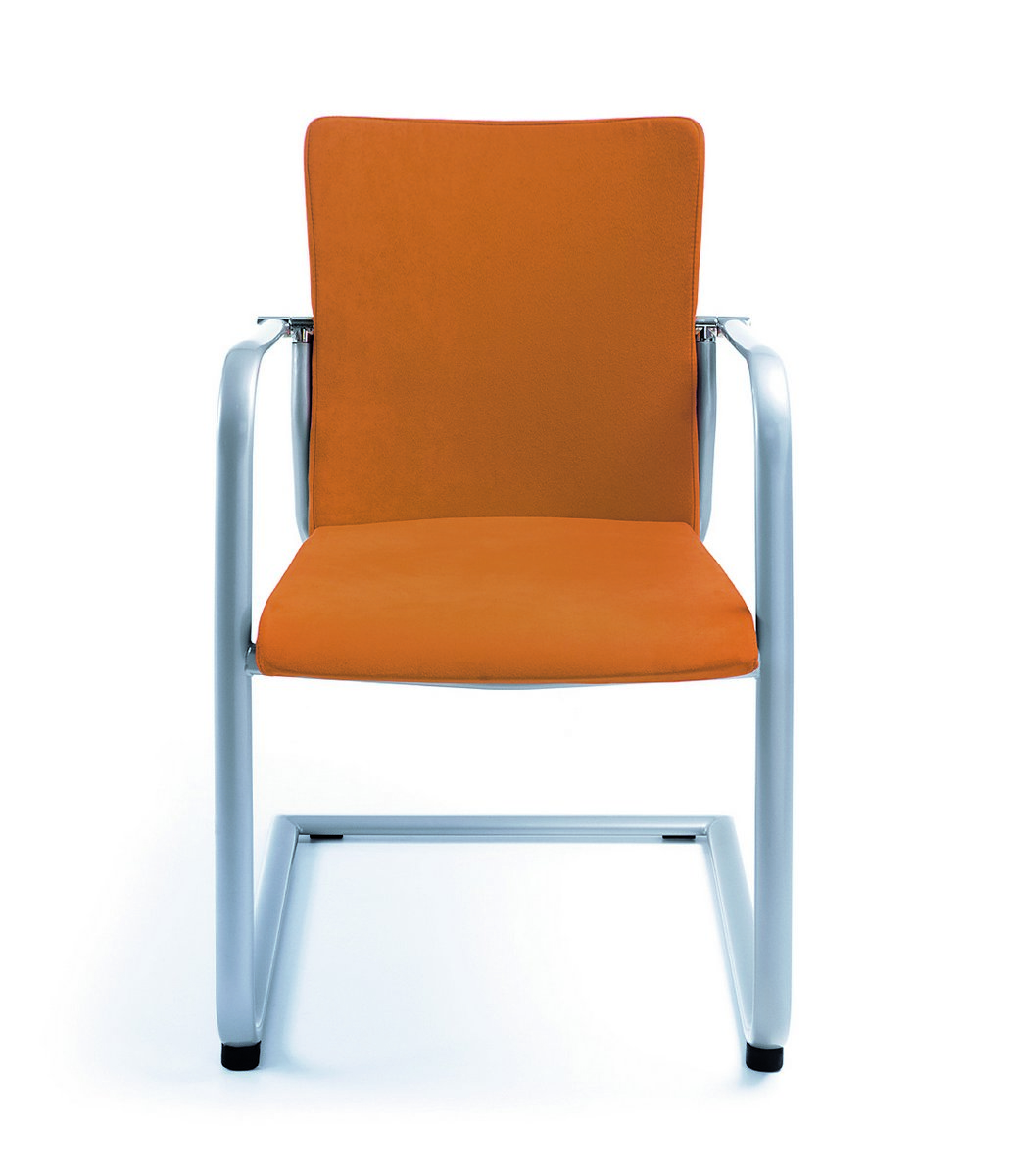 Żółte krzesła konferencyjne KALA, żółte fotele konferencyjne KALA