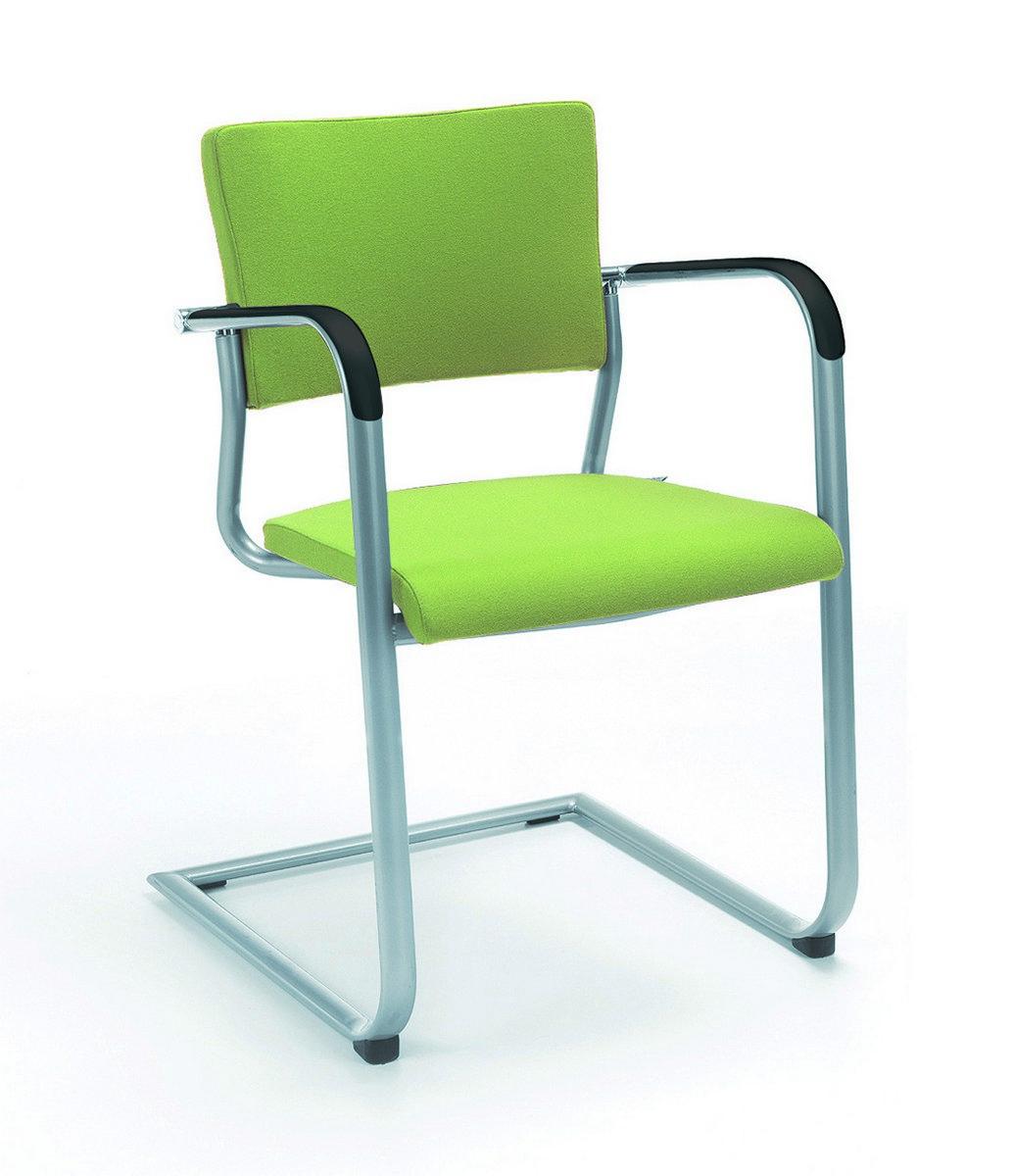 Zielone krzesła konferencyjne KALA, zielone fotele konferencyjne KALA