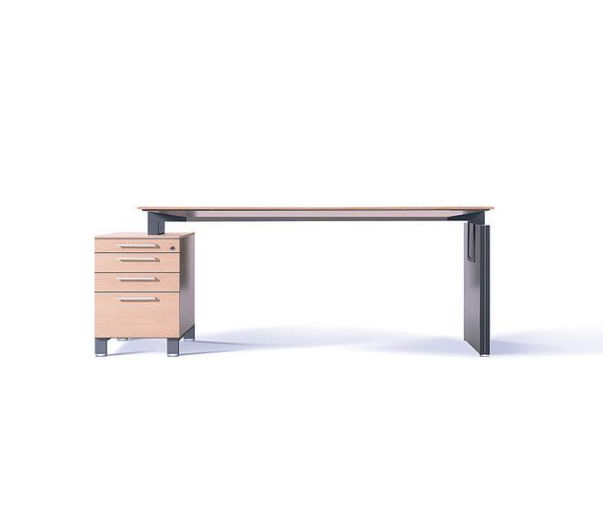 Biurko gabinetowe BINAR, biurko do gabinetu BINAR