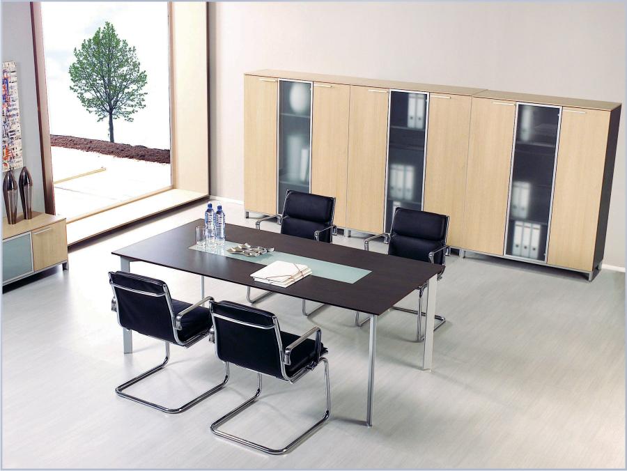 Meble gabinetowe BINAR, stół do gabinetu BINAR, stół konferencyjny do gabinetu BINAR