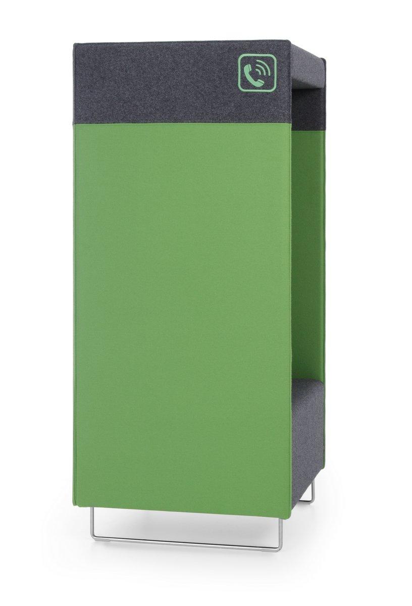 Budka telefoniczna QUADRA PHONEBOX panele akustyczne do biura open space