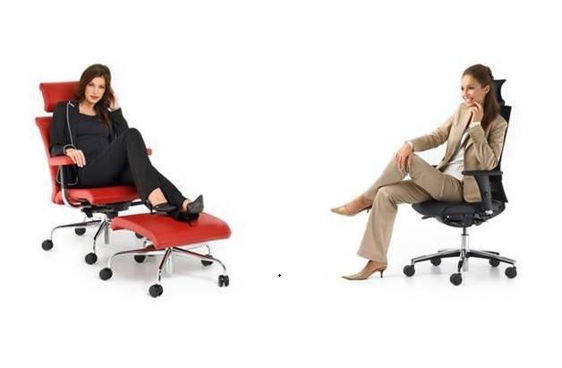 Zdrowe i wygodne krzesło