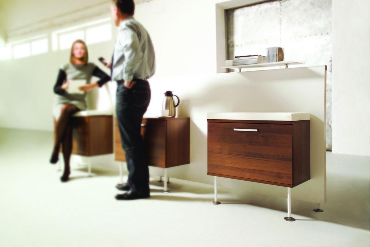 Meble do biura EVO, nowoczesne szafki biurowe