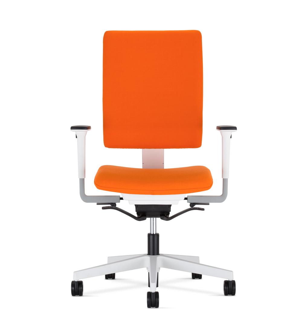 Krzesła obrotowe 4me - pomarańczowe krzesło biurowe