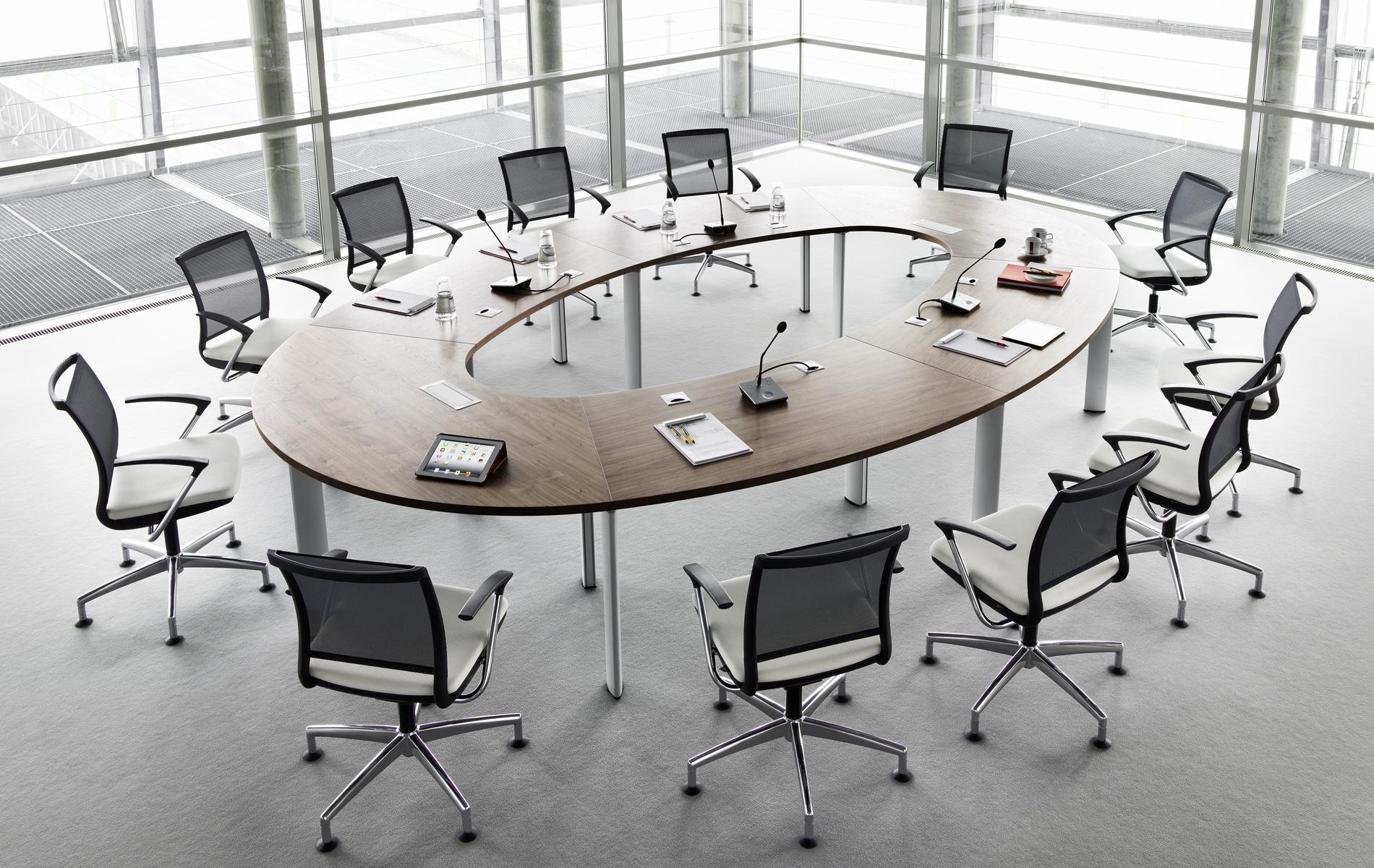 Składane stoły konferencyjne, okrągłe stoły konferencyjne CX 3200