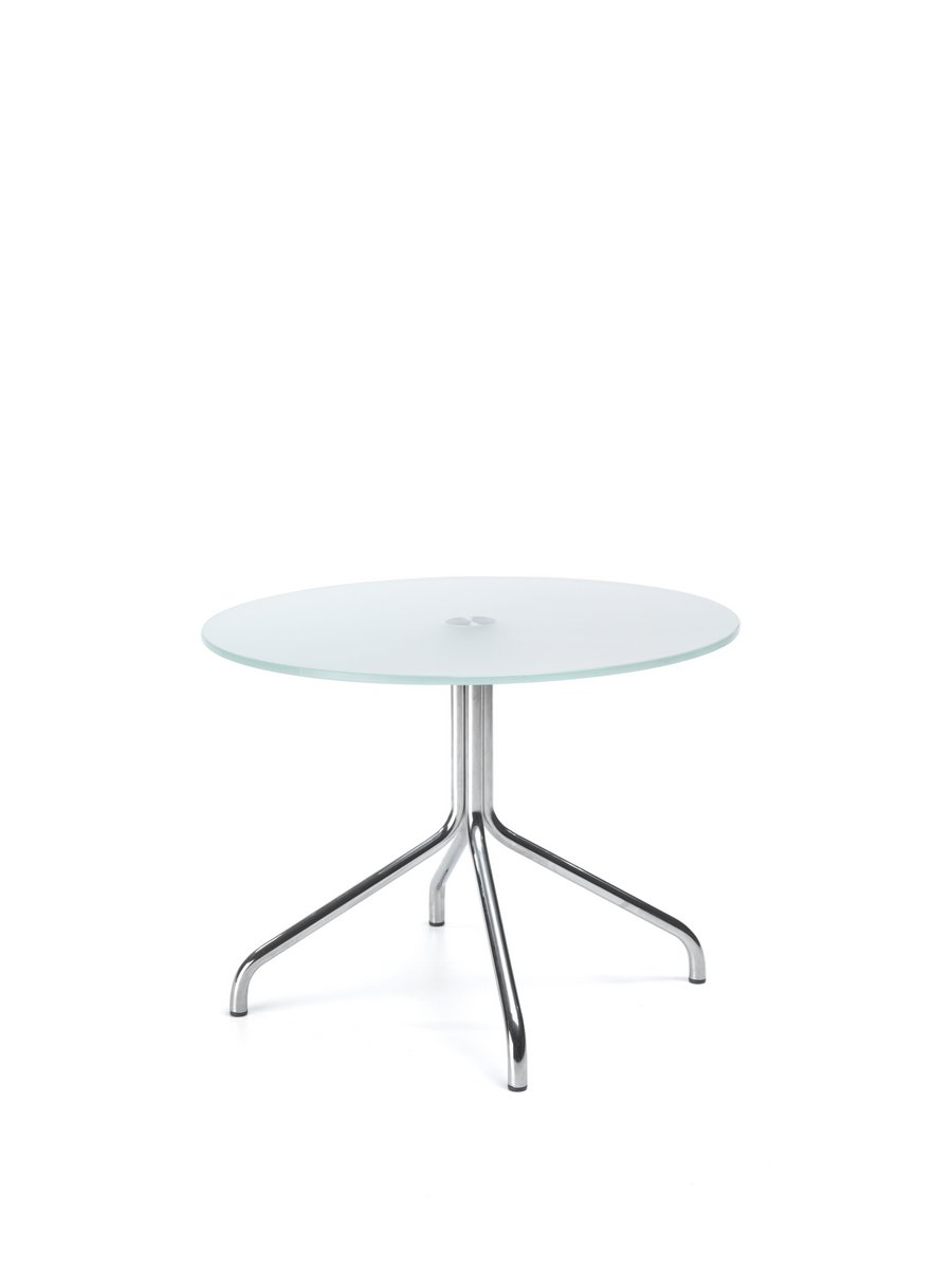 Stolik kawowy HRVW, stolik biurowy HRVW, szklany stolik kawowy do biura, recepcji, poczekalni HRVW
