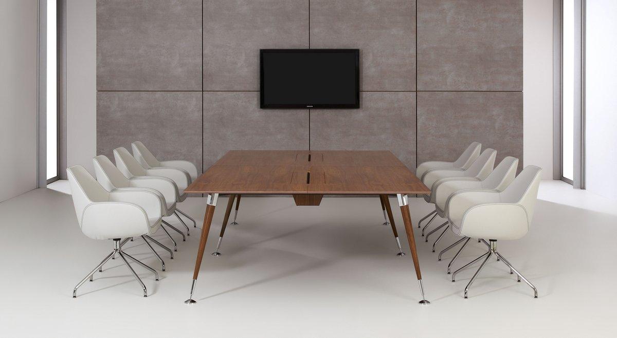 Meble gabinetowe Astero, eskluzywne meble gabinetowe Astero, stół gabinetowy konferencyjny Astero