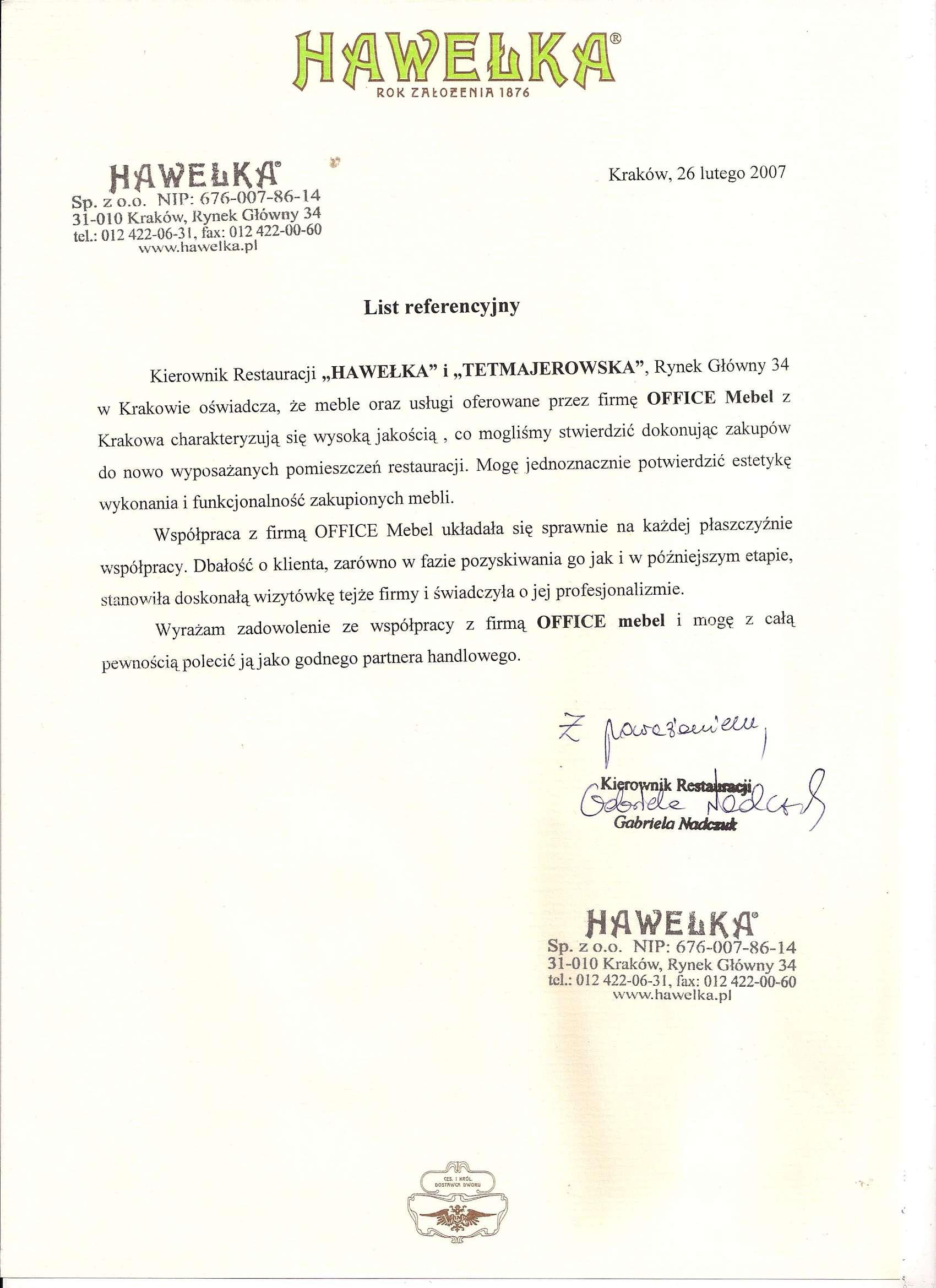 45 - HAWEŁka