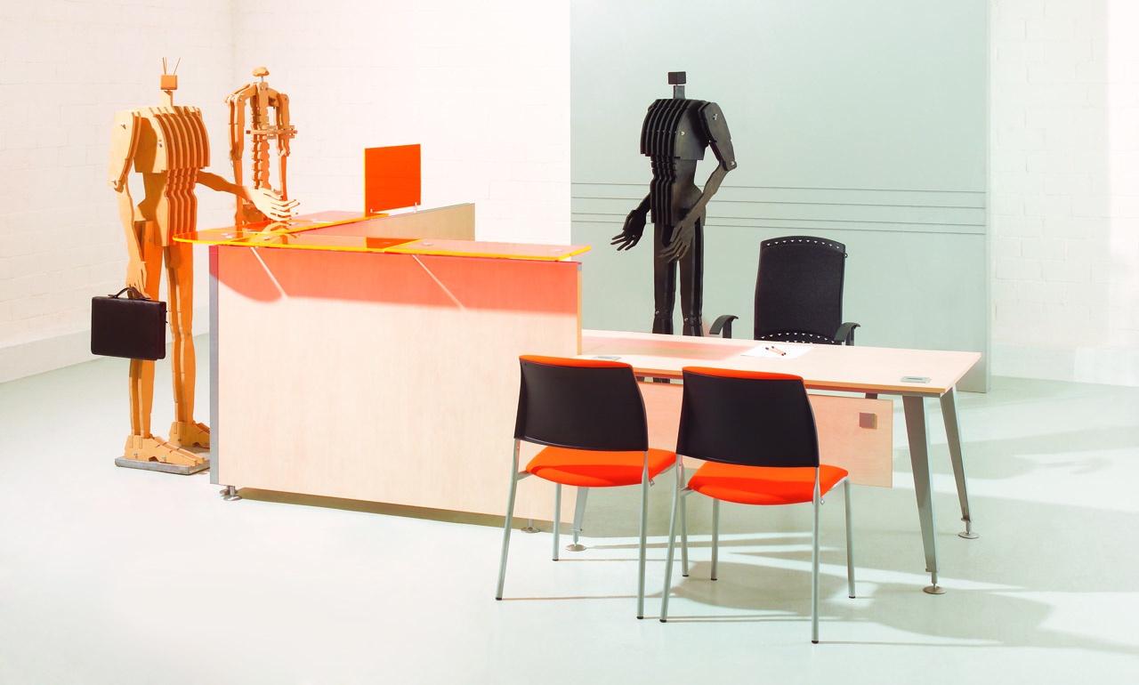 stanowisko pracy w biurze, meble biurowe EVO